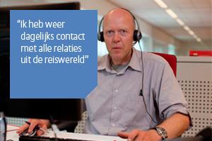 Henk, medewerker Sales Support